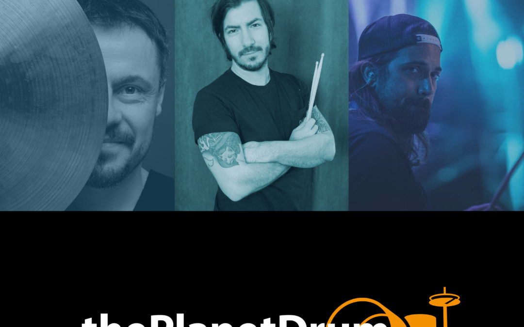 thePlanetDrum Podcast 002 Episodenbild Jan Türk und Agustin Strizzi