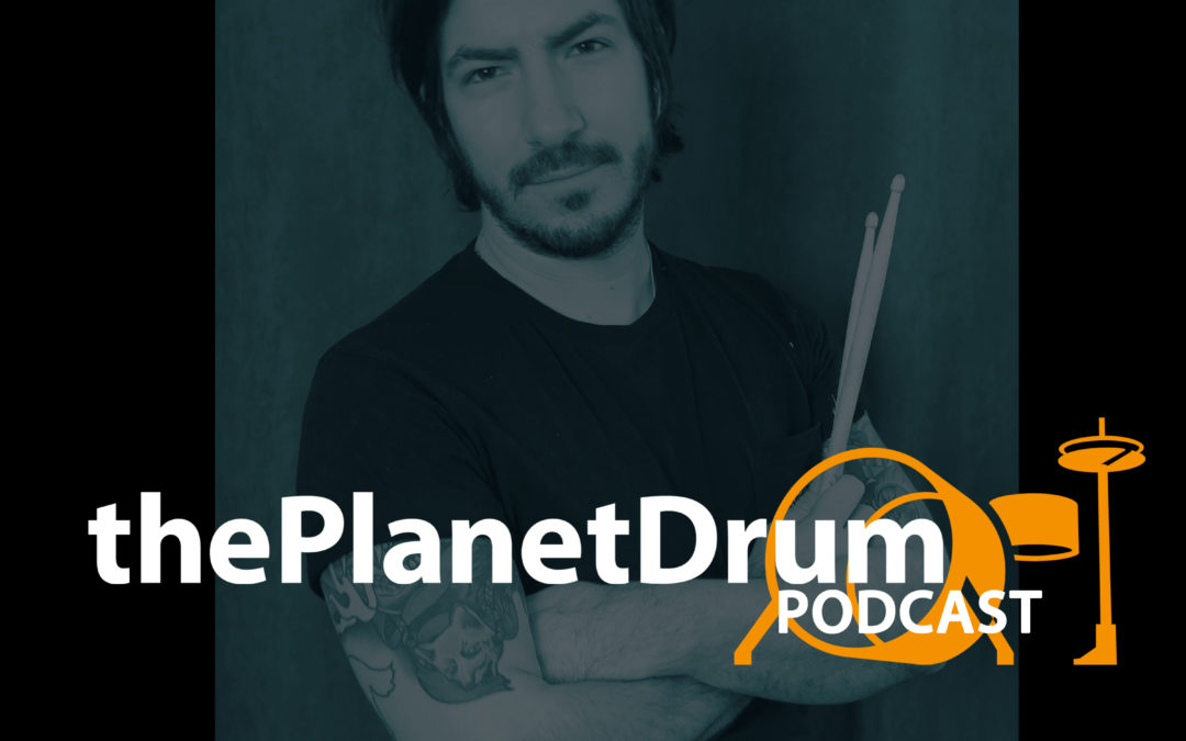 Coverbild thePlanetDrum Podcast