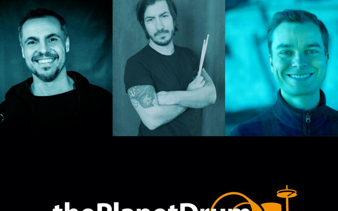 thePlanetDrum Podcast 003 Episodenbild Gabriel Hahn und Agustin Strizzi