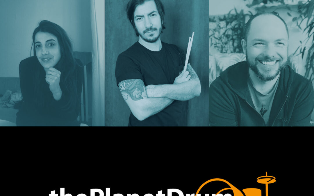 thePlanetDrum Podcast 004 Episodenbild Noelia Sanchez und Matthew Woolhouse